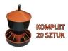 Karmnik dla drobiu mały 6 kg, polski 20 szt